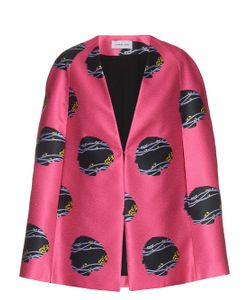 Caterina Gatta | Virginia Woolf-Print Satin Cape