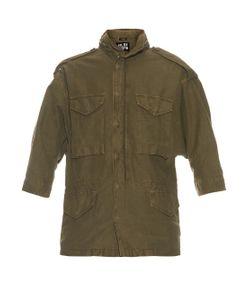 Nlst | Oversized Cotton-Blend Military Jacket