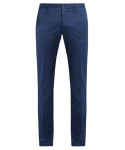 Incotex | Skinny-Fit Cotton-Blend Chino Trousers