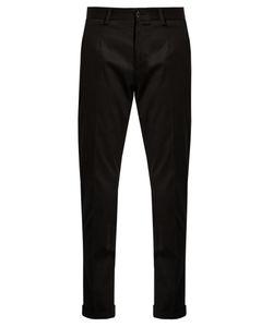 Dolce & Gabbana | Slim-Leg Cotton-Blend Chino Trousers