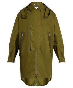 Oamc | Jungle Coated Cotton-Blend Coat