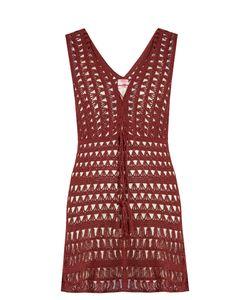 Anna Kosturova   Marissa Crochet Mini Dress