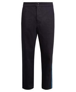 Raf Simons | Contrast-Panel Wide-Leg Jeans