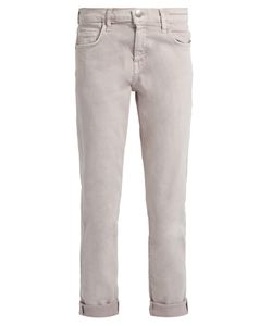 Current/Elliott | The Fling Straight-Leg Cropped Jeans