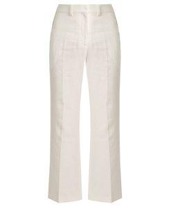 Calvin Klein Collection | Lagen Tailored Linen Trousers