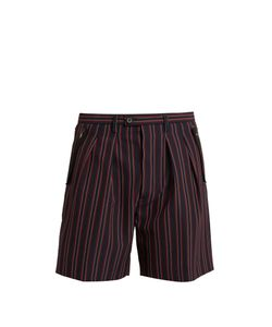 Wooyoungmi | Striped Tailo Shorts