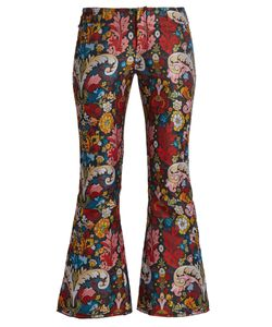 MARQUES'ALMEIDA | -Brocade Cropped Trousers