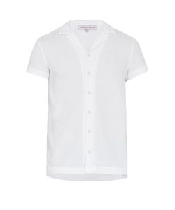Orlebar Brown | Travis French Terry-Towelling Short-Sleeved Shirt