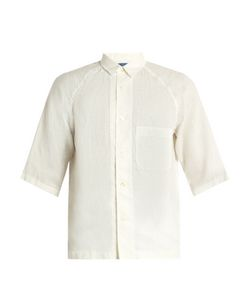 Blue Blue Japan | Short-Sleeved Linen Shirt