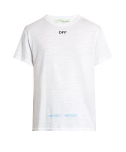 Off-White | Logo-Print Cotton-Jersey T-Shirt