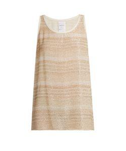Ashish | Bead-Embellished Silk-Georgette Sleeveless Top