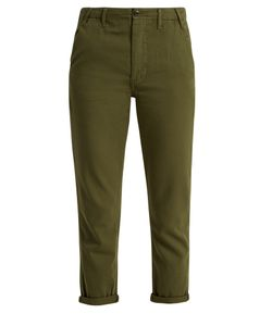 The Great | The Miner Low-Slung Cotton Trousers