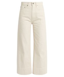 Brock Collection | Beatrice Wide-Leg Cropped Jeans