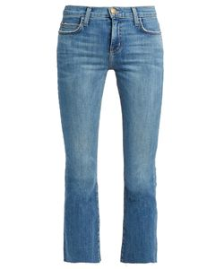 Current/Elliott | The Kick Mid-Rise Cropped Jeans