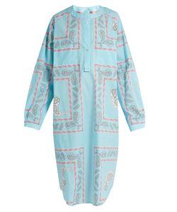 Natasha Zinko | Geometric Paisley-Print Cotton Shirtdress