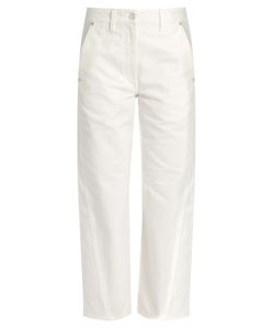 Lemaire | Twisted Mid-Rise Cropped Jeans