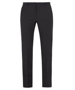 Valentino | Slim-Leg Wool-Blend Trousers