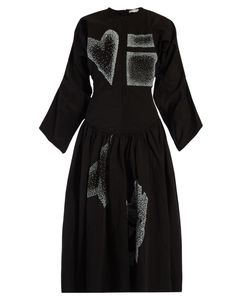 J.W.Anderson | Heart And Square-Appliqué Dress