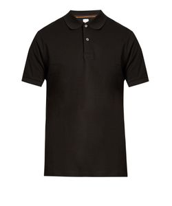 Paul Smith | Smiley-Embroide Cotton Polo Shirt
