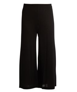 Le Kasha | Thane Cropped Wide-Leg Cashmere Track Pants