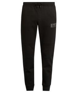 Fendi | Bag Bugs-Appliqué Jersey Track Pants