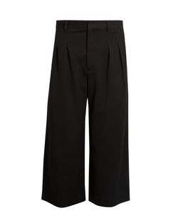 J.W.Anderson | Pleated Wide-Leg Cropped Trousers