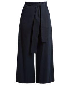 Saloni | Elma Stretch-Cotton Culottes