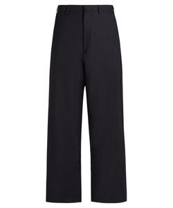 VETEMENTS | X Brioni Wide-Leg Cropped Trousers