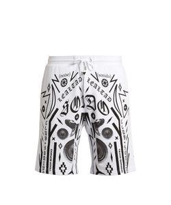 MARCELO BURLON | Rico Multi-Motif Printed Cotton Shorts