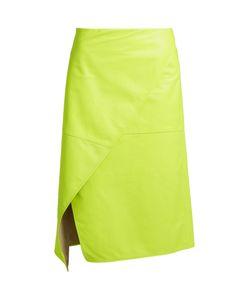 SIES MARJAN | Irma Asymmetric-Front Leather Skirt