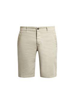 BARENA VENEZIA   Slim-Fit Cotton-Blend Drill Chino Shorts
