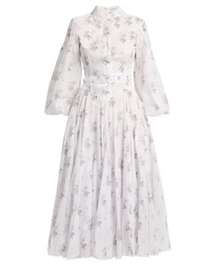 Emilia Wickstead | Anel Print Cotton-Voile Midi Dress