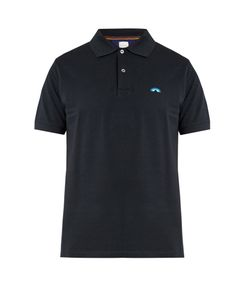 Paul Smith | Rainbow-Embroide Cotton Polo Shirt