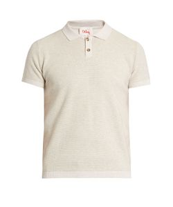 Orley | Micro-Stitch Cotton Polo Shirt