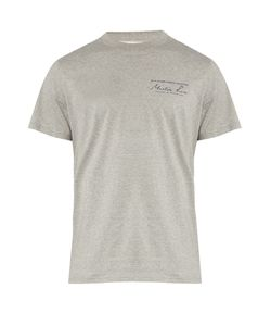 Martine Rose | Logo-Print Cotton-Jersey Short-Sleeved T-Shirt