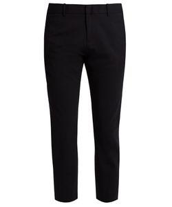 Nili Lotan | Tel Aviv Stretch-Wool Cropped Trousers