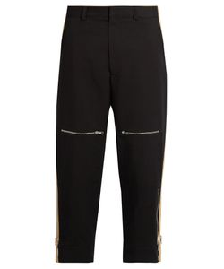 Stella McCartney | Zip-Pocket Canvas Trousers