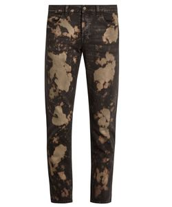 Gucci | Bleached Slim-Fit Jeans