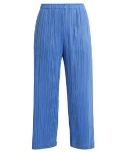 Pleats Please By Issey Miyake | Classic Wide-Leg Pleated Trousers