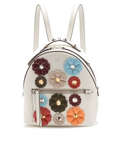 Fendi | Flowerland Mini Leather Backpack
