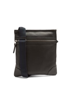Dunhill | Boston Leather Messenger Bag
