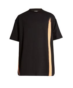 Raf Simons | Oversized Bleach-Print Cotton T-Shirt