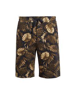 Vince | Cabana-Print Cotton-Jersey Shorts