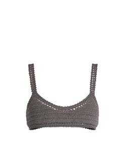 She Made Me | Essential Crop Crochet Bikini Top