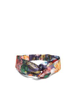 Gucci | -Print Silk-Satin Headband