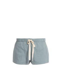 LOUP CHARMANT | Drawstring Cotton Shorts