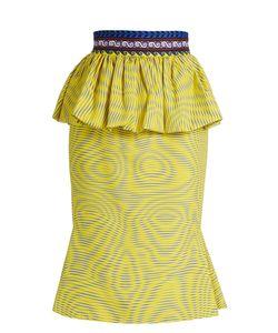 Mary Katrantzou | Leto Peplum Pencil Skirt