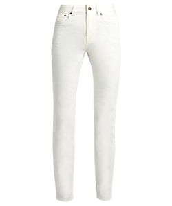 ROCKINS | High-Rise Straight-Leg Jeans