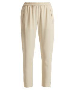 Stella McCartney | Tamara Cropped Stretch-Cady Trousers