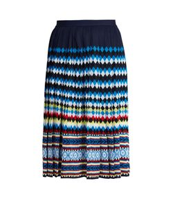 Mary Katrantzou | Aura Eirene-Jacquard Pleated Skirt